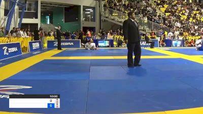 LUANNA ALZUGUIR MARTON MORAES vs RAFAELA MARIA PIRES BERTOLOT DA 2019 World Jiu-Jitsu IBJJF Championship