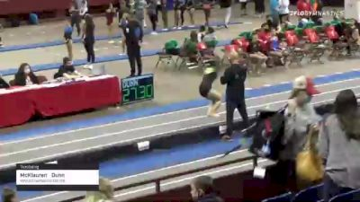 McKlauren  Dunn  - Tumbling, World Champions Centre  - 2021 Region 3 T&T Championships