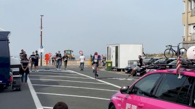 All Access Flanders: Sending Lawson Craddock And Brandon McNulty Off In The Men's Individual Time Trial