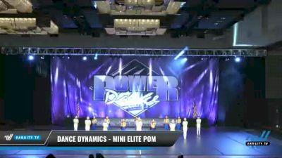 Dance Dynamics - Mini Elite Pom [2021 Mini - Pom Day 2] 2021 ACP Power Dance Nationals & TX State Championship