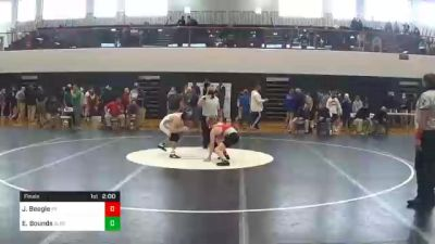 126 lbs Final - Jace Beegle, Pequea Valley vs Eli Bounds, Boiling Springs