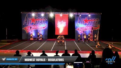 Midwest Royals - Regulators [2021 L2 Senior - D2 - Small Day 3] 2021 ASCS: Tournament of Champions & All Star Prep Nationals
