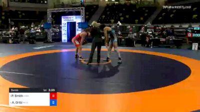 77 kg Semifinal - Patrick Smith, Minnesota Storm vs Alec Ortiz, Minnesota Storm