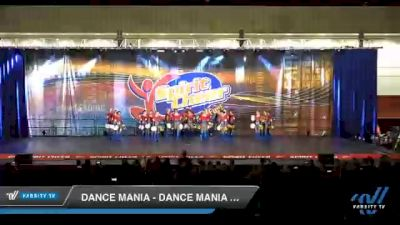 Dance Mania - Dance Mania Senior Pom Large [2020 Senior - Pom - Large Day 2] 2020 All American DI & DII Nationals