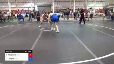 86 kg Prelims - Chase Waggoner, Illinois Regional Training Center/Illini WC vs Corey Langner, Georgia