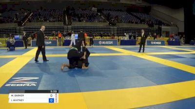 MATEUS RODRIGUES DE SOUZA vs VINICIUS MATHEUS BERNARDO DE AQU 2018 Pan Jiu-Jitsu IBJJF Championship