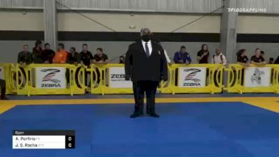 Andre Porfirio vs Joao S. Rocha 2020 American National IBJJF Jiu-Jitsu Championship