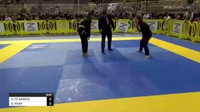 CARMELA FE GARCIA vs SAFIA MIAN 2021 Pan Kids Jiu-Jitsu IBJJF Championship