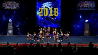 Steele Athletics - Titanium [2018 Senior X-Small Coed Semis] The Cheerleading Worlds