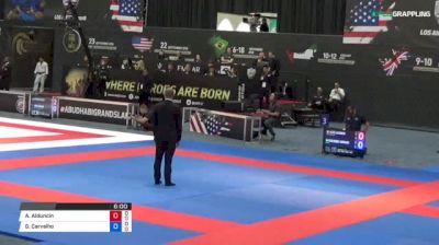 Alexis Alduncin vs Guilherme Carvalho 2018 Abu Dhabi Grand Slam Los Angeles