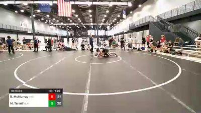 130 lbs Prelims - Ben McMurray, Team Gotcha vs Malachi Terrell, Death Squad