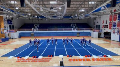 Silver Creek High School [Medium VA Virtual Finals] 2021 UCA National High School Cheerleading Championship