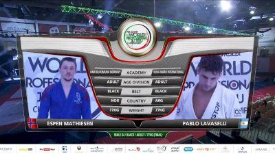 Pablo Lavaselli vs Espen Mathiesen 2020 Abu Dhabi World Pro