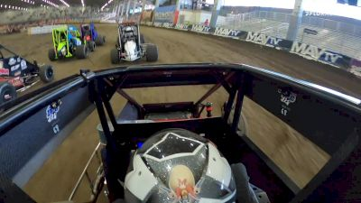 Lucas Oil On-Board: Daison Purlsey's Charge From 6th to 2nd In Stock Non Wing Heat