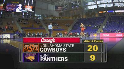 285 lbs - Carter Isley, UNI vs Austin Harris, Oklahoma State