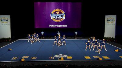 Westview High School [2021 Medium Non Tumbling Finals] 2021 UCA National High School Cheerleading Championship