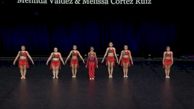 DanzForce Academy - Danzforce Dolls and A dude [2021 Youth Contemporary / Lyrical - Small Finals] 2021 The Dance Summit