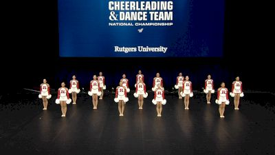 Rutgers University [2021 Division IA Pom Semis] 2021 UCA & UDA College Cheerleading & Dance Team National Championship