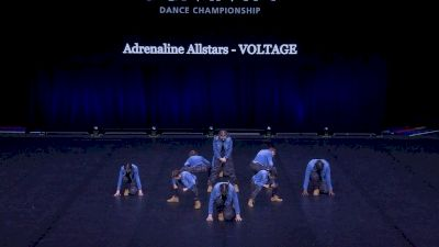 Adrenaline Allstars - VOLTAGE [2021 Youth Hip Hop - Small Semis] 2021 The Dance Summit