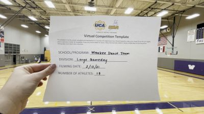 Waukee High School [Varsity - Game Day] 2021 UDA Spirit of the Midwest Virtual Challenge
