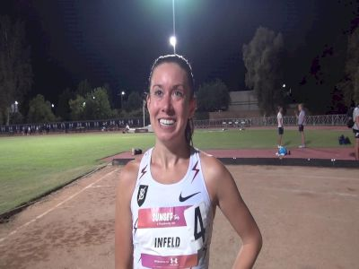 Emily Infeld After Outdoor 5k PR & Her Thoughts On Recent ESPN Article
