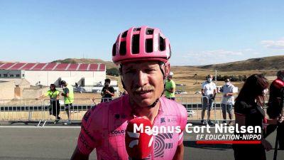 Magnus Cort Nielsen: 'Some Good Bike Riders Beat Me'
