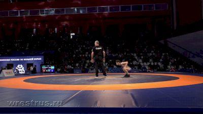 57 kg Quarterfinal, Zaur Uguev vs Kuresh-Ool Donduk-Ool
