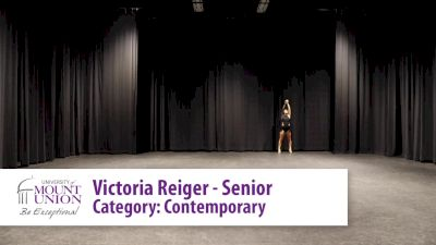 Victoria Reiger - University of Mount Union (College Solo -- Contemporary/Lyrical)