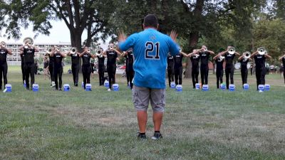 In The Lot: Blue Knights Warm-Up 2