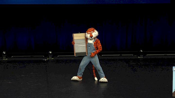 Auburn University - Aubie the Tiger [2021 Mascot Finals] 2021 UCA & UDA College Cheerleading & Dance Team National Championship