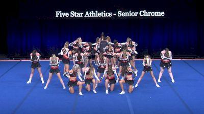 Five Star Athletics - Senior Chrome [2021 L3 Senior Coed - Medium Wild Card] 2021 The Summit