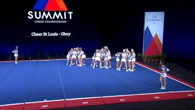 Cheer St Louis - Glory [2021 L4.2 Senior - Small Semis] 2021 The Summit