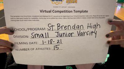 St Brendan High School [Small Junior Varsity] 2021 UCA January Virtual Challenge