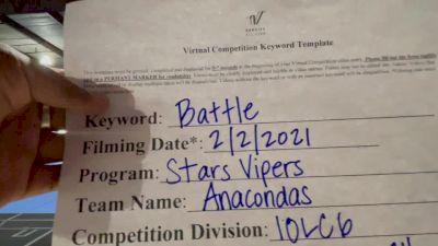 Stars Vipers Anacondas - Stars Vipers San Antonio - Anacondas [L6 International Open Coed - Large] 2021MG Extravaganza Virtual Nationals
