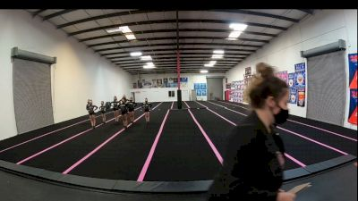 Fierce Cheer Elite - Lady Heirs [L1 Youth - D2 - Small] 2021 PacWest Virtual Championship