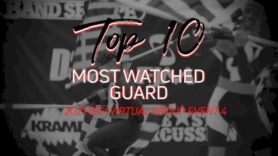 TOP 10: Most Watched Guards WGI Group Week 4