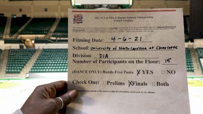 UNC Charlotte [Division IA Pom Virtual Finals] 2021 NCA & NDA Collegiate Cheer & Dance Championship