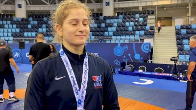 Amit Elor Stays Disciplined To Win Her First World Title