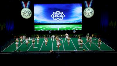 Deland High School [2021 Small Coed Game Day Finals] 2021 UCA National High School Cheerleading Championship