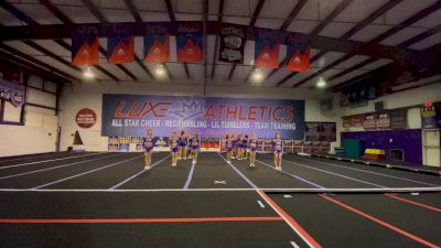 Luxe Cheer - Lady Legends [L6 Senior - Xsmall] 2021 NCA All-Star Virtual National Championship