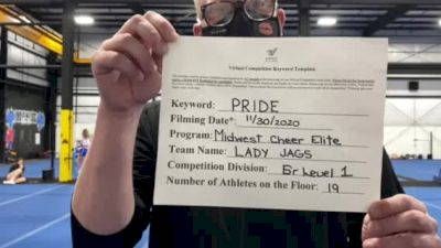 Midwest Cheer Elite - Lady Jags [L1 Senior] 2020 WSF All Star Cheer & Dance Virtual Championship
