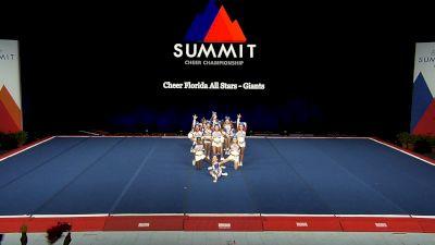Cheer Florida All Stars - Giants [2021 L1 Junior - Small Wild Card] 2021 The Summit