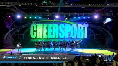 FAME All Stars - Midlo - Lady Crush [2020 Senior Medium 4 Day 1] 2020 CHEERSPORT National Cheerleading Championship