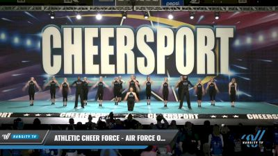 Athletic Cheer Force - Air Force One [2021 L4 Senior Open Day 1] 2021 CHEERSPORT: Charlotte Grand Championship