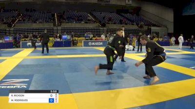 RYAN RICKSON NORTH vs MATEUS RODRIGUES DE SOUZA 2018 Pan Jiu-Jitsu IBJJF Championship