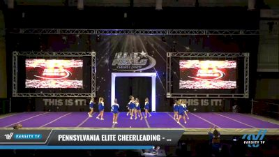 Pennsylvania Elite Cheerleading - Mini Marvels [2021 L1.1 Mini - PREP Day 1] 2021 The U.S. Finals: Ocean City