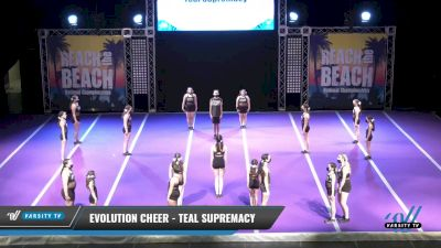 Evolution Cheer - Teal Supremacy [2021 L1 Junior - D2 Day 2] 2021 ACDA: Reach The Beach Nationals