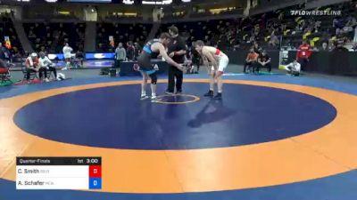 97 kg Quarterfinal - Christopher Smith, Southeast Regional Training Center, Inc vs Austin Schafer, New York Athletic Club