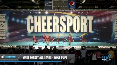 Wake Forest All Stars - Wolf Pups [2021 L2 Mini - D2 Day 1] 2021 CHEERSPORT: Charlotte Grand Championship