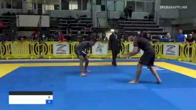 Matheus Gabriel Pinheiro vs Leonardo Da Silva 2021 Pan IBJJF Jiu-Jitsu No-Gi Championship